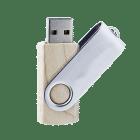 clé USB bois pivotante personnalisée