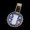 Clé USB Ronde Personnalisée