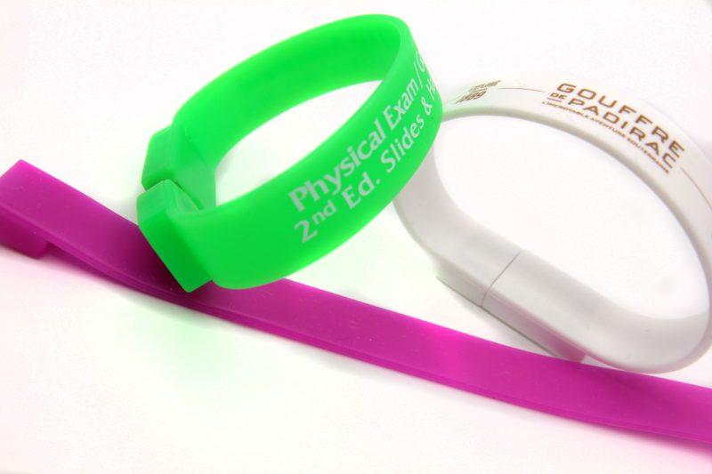 Bracelet Clé USB Personnalisé - USB-Factory