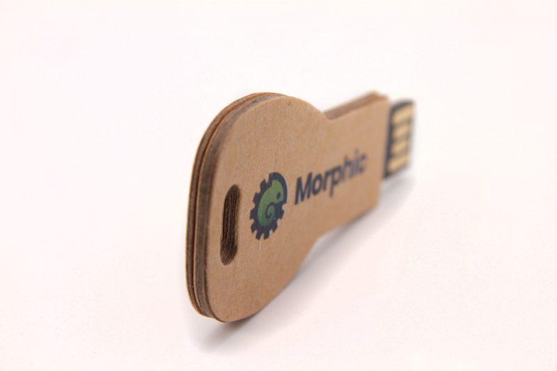 Clé USB Carton Recyclé Personnalisée - USB-Factory