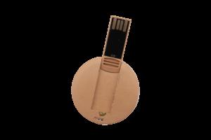 Clé USB Ecoresponsable ronde
