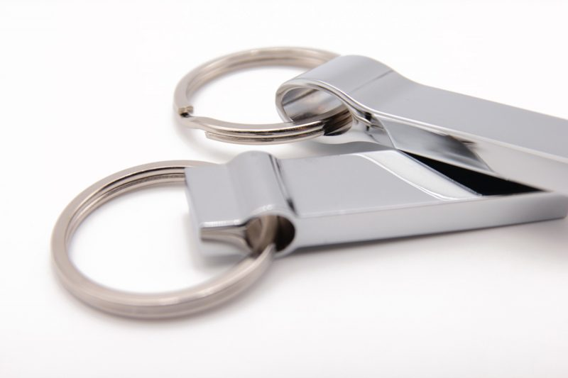 Clé usb metal porte-clef