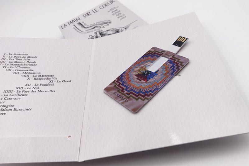Packaging personnalisé pour clé USB